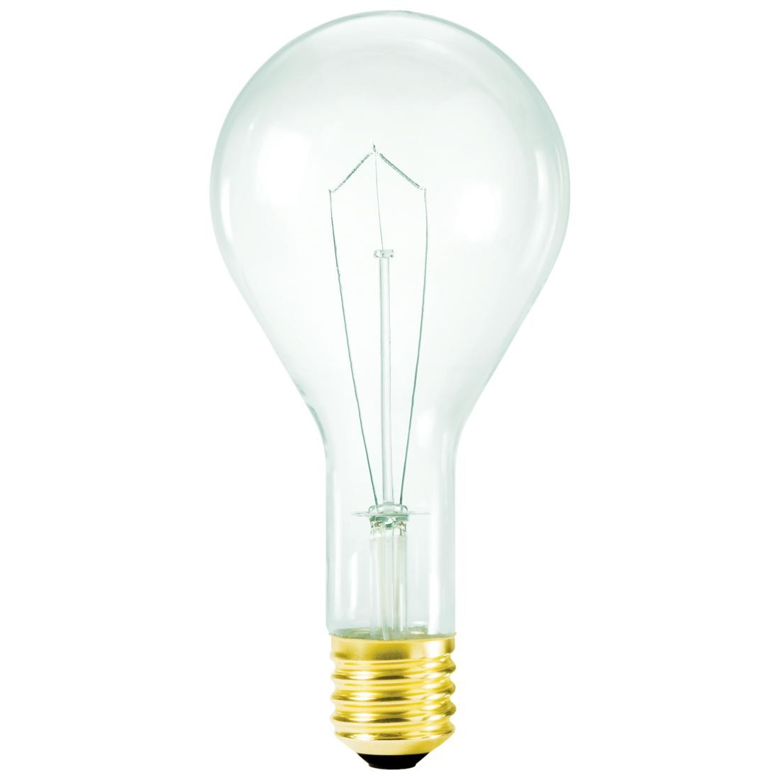 incandescent 120v 130v mogul e39 base clear bulb 300cl 120 130 ath. Black Bedroom Furniture Sets. Home Design Ideas
