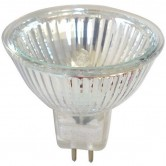 Osram 20 Watt MR16 Halogen 3000K 12V Bipin (GU5.3) Base Covered Glass Reflector Wide Flood Bulb - BAB (44860WFL)