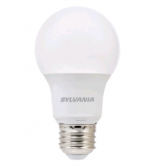 Sylvania 8.5 Watt A19 LED 2700K 120V 800 Lumen 80 CRI Medium (E26) Base Frosted Bulb (LED8.5A19F82710YVRP)