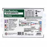 Lutron Programmed Rapid Start CFL 120V/220V/240V/277V Dimmable Ballast for (1) 26 Watt, 32 Watt 4 Pin Bulb (EC3DT4MWKU1S)