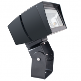 RAB 39 Watt LED Floodlight - 5000K 120V-277V 71 CRI 5666 Lumen Bronze Fixture - Trunnion Mount - DLC Standard (FFLED39T)