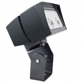 RAB 52 Watt LED Floodlight - 4000K 120V-277V 71 CRI 6081 Lumen Bronze Fixture - Trunnion Mount - DLC Standard (FFLED52TNB44)