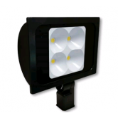 "Cree 234 Watt LED Wide Floodlight - 5000K 120V-277V 70 CRI 26,300 Lumen Dark Bronze Fixture - Includes 2"" Adjustable Fitter (C-FL-A-RTF4-26L-50K-DB)"