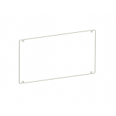 RAB Polycarbonate Shield for FXLED78 Guard with Stainless Steel Screws (GDFXLED78P)