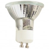 50 Watt MR16 Halogen 120V Twist & Lock (GU10) Base Covered Glass Flood Bulb - EXN (JDR-9825P)