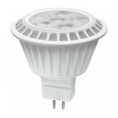 TCP 7 Watt MR15 LED 2400K 12V 450 Lumens 80 CRI GU5.3 Base 40 Degree Dimmable Flood Bulb (LED712VMR16V24KFL)