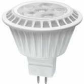 TCP 7 Watt MR16 LED 4100K 12V 550 Lumen 82 CRI Bipin (GU5.3) Base Dimmable Flood Bulb (LED712VMR16V41KFL)