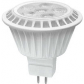 TCP 7 Watt MR16 LED 3000K 12V 500 Lumen 82 CRI GU5.3 Base Dimmable Flood Bulb (LED712VMR1630KNFL)