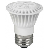 TCP 7 Watt 3000K PAR16 LED 3000K 120V 525 Lumen 82 CRI Medium (E26) Base Flood Bulb (LED7P1630KFL)
