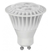 TCP 7 Watt MR16 LED 3000K 120V 525 Lumen 82 CRI GU10 Base White Dimmable Flood Bulb (LED7MR16GU1030KFL)