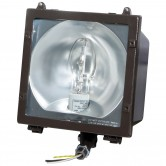 70 Watt Metal Halide (Pulse Start) Medium HID Floodlight Fixture for 120/277 Volt - Includes Lamp (MFL70MH)