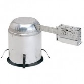 "Nora 6"" IC Rated Airtight Remodel Line Voltage Recessed Canister - 100 Watt Max (NHRIC-17QAT)"