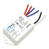 B+L Electronic Compact Fluorescent Ballast for (1) 28W Max CFL Lamp - 277V (NU6-2128-PSX)