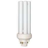 Philips 18 Watt PL Triple Tube CFL 4100K 100V 80 CRI 4 Pin (GX24q-2) Plug-In Base Bulb (PL-T18W/841/A/4P/ALTO)