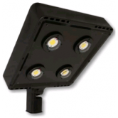 Cree 119 Watt LED Type VII Distribution Shoe Box - 5000K 120V-277V 70 CRI 16,900 Lumen Dark Bronze Fixture - DLC Premium (C-AR-A-SQT7-17L-50K-DB)