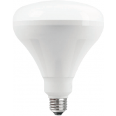 TCP 12 Watt BR40 LED 2400K 120V 850 Lumen 82 CRI Medium (E26) Base Dimmable Bulb (LED12BR40D24K)