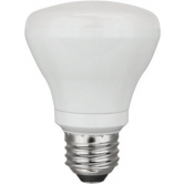 TCP 8 Watt R20 LED 2400K 120V 500 Lumen 82 CRI Medium (E26) Base Dimmable Bulb (LED8R20D24K)