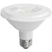 TCP 12 Watt PAR30 Short Neck LED 3500K 120V 850 Lumen 82 CRI Medium (E26) Base Dimmable Narrow Flood Bulb (LED12P30SD35KNFL)