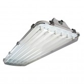 Havells Fluorescent Electronic Vaportight Fixture - 120V-277V for (6) F32T8 Bulbs (VP2X4-632U-EB8)