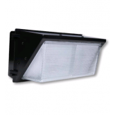 Cree 96 Watt LED Traditional Wallpack with Prismatic Glass Lens - 5000K 120V-277V 70 CRI 8900 Lumen Dark bronze Fixture (C-WP-A-TRAD-8L-50K-DB)