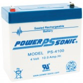 4V 10Ah Backup Battery for Emergency/Exit Fixtures (EP-4100)