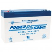 Power-Sonic PS-6100 6V 10Ah Backup Battery