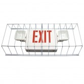 "Wire Guard for Dual-Head Emergency/Exit Combo Fixtures 13.5"" HIGH X 30"" WIDE X 6"" DEEP (WG-3)"