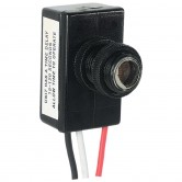 Precision Button Style 120V Photocell