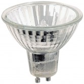 35 Watt MR11 Halogen 120V Twist & Lock (GU10) Base Covered Glass Flood Bulb - FTH (FTH/CG/GU10)