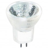 10 Watt MR8 Halogen 6V Bipin (GZ4) Base Open Flood Bulb (MR8/6V/10W/FL)