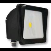Cree 30 Watt LED Dark Bronze Compact Flood Fixture - 4000K 120V-277V 70 CRI 2900 Lumen - DLC Standard (C-FL-A-RC-3L-40K-DB)