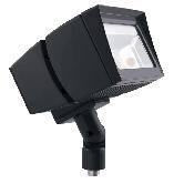 RAB 39 Watt LED Floodlight - 5000K 120V-277V 71 CRI 5666 Lumen Bronze Fixture - DLC Standard (FFLED39)