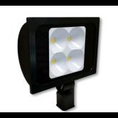 "Cree 234 Watt LED Narrow Floodlight - 4000K 120V-277V 70 CRI 22,900 Lumen Dark Bronze Fixture - Includes 2"" Adjustable Fitter (C-FL-A-RTS4-23L-40K-DB)"