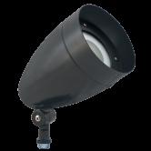 RAB 13 Watt LED Bullet Floodlight - 5000K 120V-277V 67 CRI 1490 Lumen Bronze Fixture (HBLED13A)