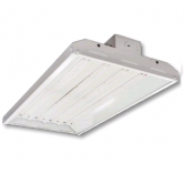 "Cree 108 Watt 24"" LED 0-10V Dimmable Linear High Bay Fixture with Clear Acrylic Lens - 5000K 120V-277V 80 CRI 13,000 Lumen - Includes V-Hook and 36"" Chain - DLC Standard (C-PHB-A-L2F-13L-50K-WH)"