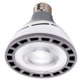 Hi-Pro 12 watt PAR30 Short Neck LED; 3000K; 25' beam spread; Medium base; 100-277 volts (12W/LED/PAR30/SN/3K/100-277V)