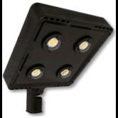 Cree 119 Watt LED Type VII Distribution Shoe Box - 4000K 120V-277V 70 CRI 16,900 Lumen Dark Bronze Fixture - DLC Premium (C-AR-A-SQT7-17L-40K-DB)