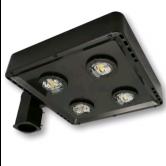 Cree 119 Watt LED Type V Distribution Shoe Box - 4000K 120V-277V 70 CRI 16,100 Lumen Dark Bronze Fixture - DLC Premium (C-AR-A-SQT5-16L-40K-DB)