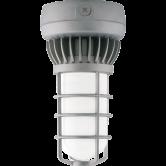 RAB 13 Watt LED Gray Vaporproof Jelly Jar Fixture - 5000K 120V-277V 65 CRI 729 Lumen (VXLED13DG)