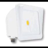 Cree 30 Watt LED White Compact Flood Fixture - 4000K 120V-277V 70 CRI 2900 Lumen - DLC Standard (C-FL-A-RC-3L-40K-WH)
