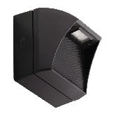 RAB 5 Watt LED Wallpack - 5000K 120V-277V 69 CRI 196 Lumen Bronze Fixture (WPLED5)